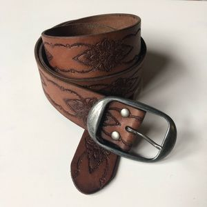 J. Crew Brown Leather Belt